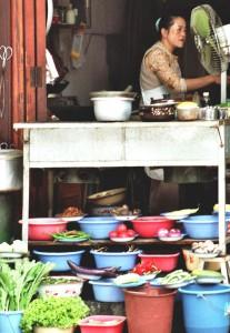 Restaurant in Dali (China)